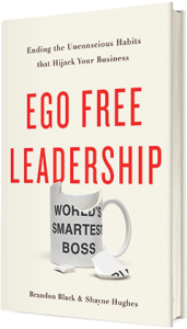 Ego Free Leadership Book Cover