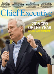Shayne Hughes Article in Chief Executive Magazine